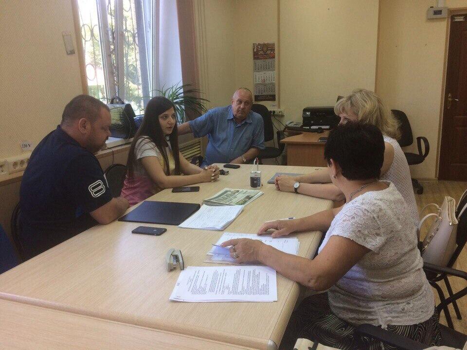 Организационная встреча Общественной палаты