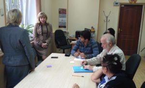 Встреча Комиссии по экологии с Аллой Владимировной Самковой