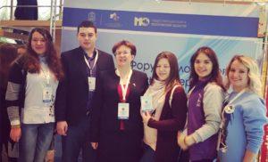 Члены Общественной палаты посетили форум волонтеров