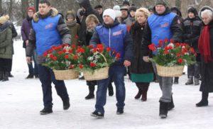 Митинг посвященный Дню рождения А.П. Чехова