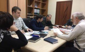Рабочая встреча Комиссии по дорожному хозяйству