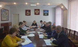 Заседание комиссии по обеспечению безопасности движения