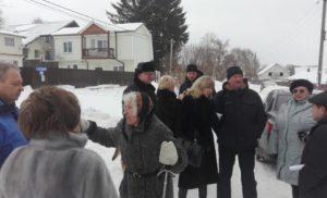 Выезд в деревню Манушкино по обращению граждан