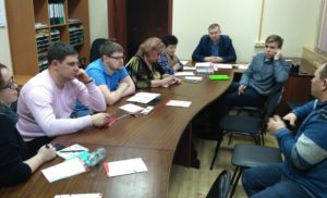 Заседание Совета ОП