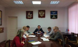 Встреча с Заместителем главы администрации