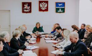 Еженедельное оперативное совещание при Главе г.о.Чехов