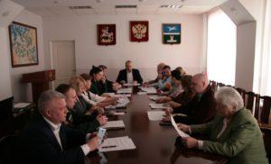 Заседание комиссии по профилактике преступлений