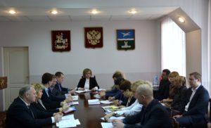 Еженедельное оперативное совещание Главы г.о.Чехов