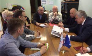Встреча с коллективом «Музея памяти Лопасненского края»