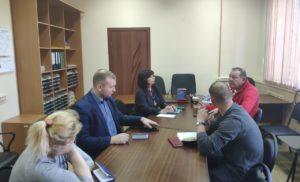 Встреча рабочей группы Общественного контроля за эффективностью оказания медицинских услуг населению г.о.Чехов