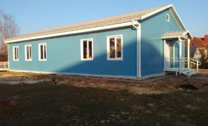 Мониторинг строительства ФАП в Манушкино