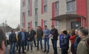 Встреча с дольщиками ЖК «Чеховский посад»