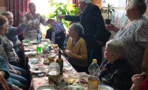 День рождения Председателя Совета ветеранов Полиграфкомбината