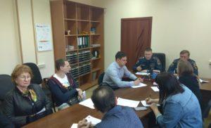 Встреча представителей бизнеса с ГУ МЧС России.