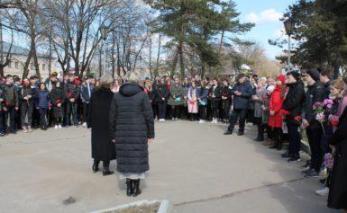 Митинг посвященный дню рождения А.М.Прокина