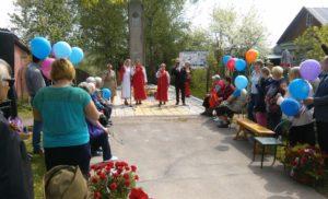 Митинг в деревне Гришенки