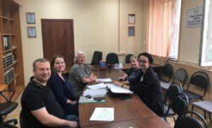 Заседание комиссии № 1 Общественной палаты г.о.Чехов