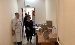 Мониторинг и опрос в медицинской организации поселка Столбовая