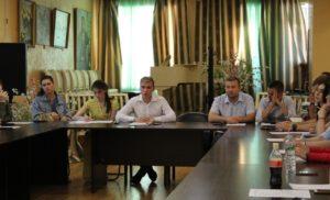Расширенное заседании Молодежного парламента г.о.Чехов