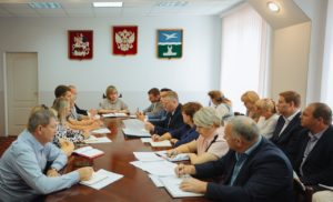 Еженедельное совещание Главы г.о.Чехов