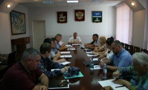 Заседание межведомственной комиссии по профилактике преступлений и правонарушений г.о. Чехов