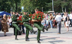 Митинг, посвященный годовщине начала Великой Отечественной войны