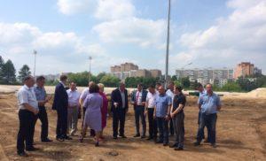 Мониторинг реконструкции стадиона «Химик»