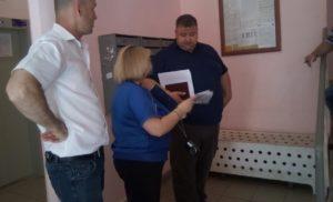 Проверка по жалобе жильцов дома 14 по улице Земской