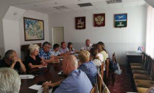 Заседание Штаба по вопросу организации работы регионального оператора по обращению с ТКО