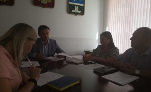 Внеочередное заседание Оперативного штаба по борьбе с борщевиком
