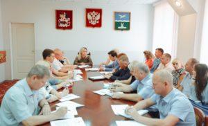 Еженедельное совещание Заместителя Главы Администрации г.о. Чехов О.С. Карповой
