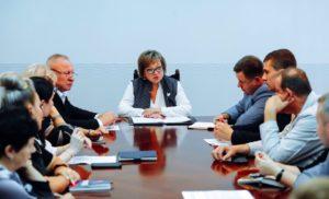 Встреча Главы г.о.Чехов с  представителями Общественной палаты