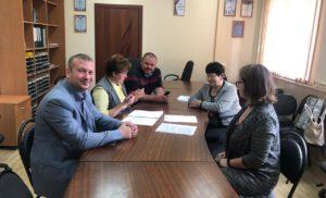 Встреча с Заместителем Главы  Администрации г.о.Чехов