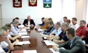 Заседание  Антитеррористической комиссии городского округа Чехов