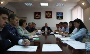 Заседание межведомственной комиссии  по профилактике преступлений и правонарушений