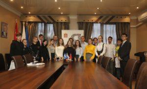 Торжественное вручение паспортов юным жителям городского округа Чехов