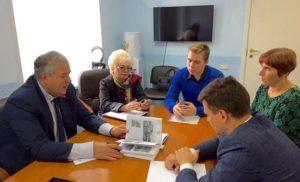 Встреча с коллективом МБУК «Музей памяти  Лопасненского края»
