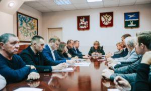 Встреча Главы городского округа Чехов с членами Общественной  палаты.