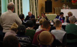 Встреча с  жителями по вопросам здравоохранения