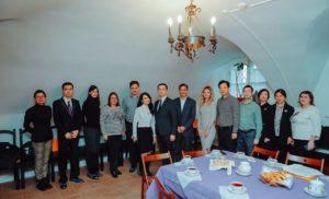 Делегация Комитета по развитию и реформам провинции Чжецзян КНР