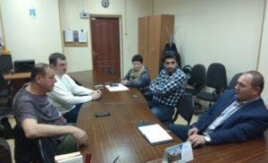 Рабочее заседание комиссии ЖКХ