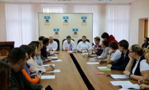 Заседание Регионального штаба «Молодой Гвардии  Подмосковья»