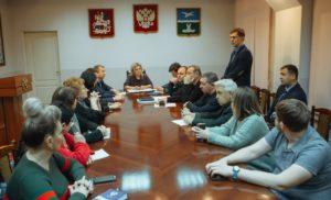 Встреча с временно исполняющим  полномочия Главы городского округ
