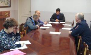 Внеочередное заседание комиссии по обеспечению безопасности дорожного  движения