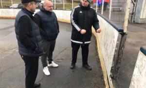 Мониторинг готовности стадиона «Труд» к зимнему периоду