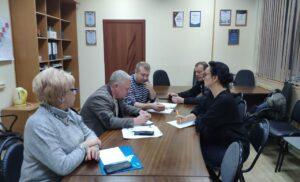 Встреча с Главным врачом  Чеховской областной больницы