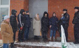 Участковые уполномоченные полиции ОМВД России по г.о. Чехов провели  отчет перед населением