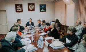 Встреча с ВРИП Главы  г.о.Чехова Артамоновым Григорием Игоревичем
