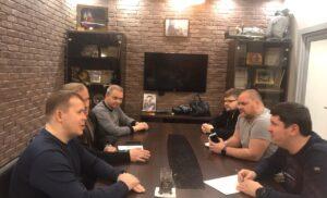 Встреча с  Начальником штаба местного отделения ВВПОД Юнармия