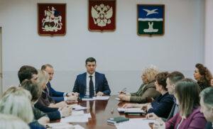 Еженедельное  совещание ВРИП Главы г.о. Чехов